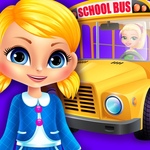 Mia goes to School - Preschool Salon & Kids Games