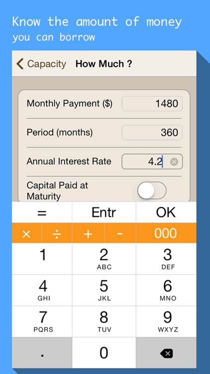 Mortgages & Loan payment calculator with schedule screenshot-3