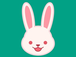 Cute bunny stickers carrying various emotions to spice up your chats