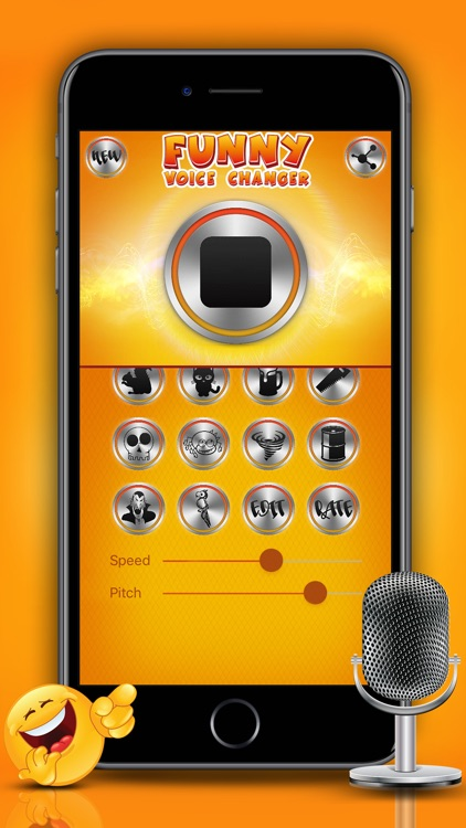Funny Voice Changer Prank Sound Modifier & Effects screenshot-4