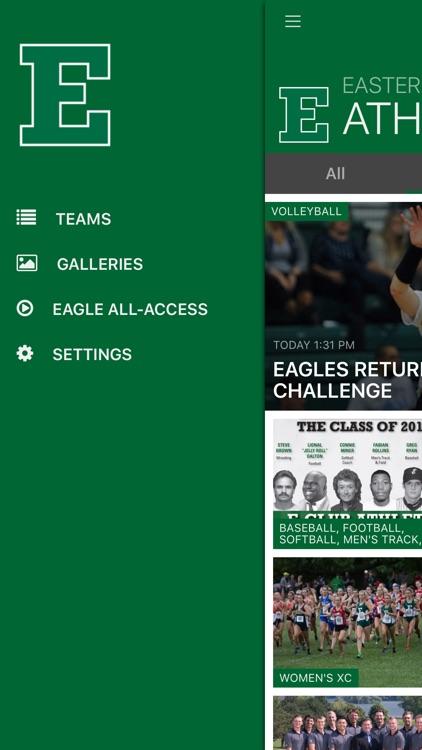 Eastern Michigan Eagles screenshot-4