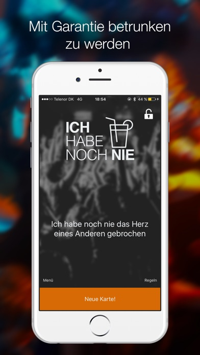 Screenshot for Ich Habe Noch Nie - Partyspiel in Germany App Store
