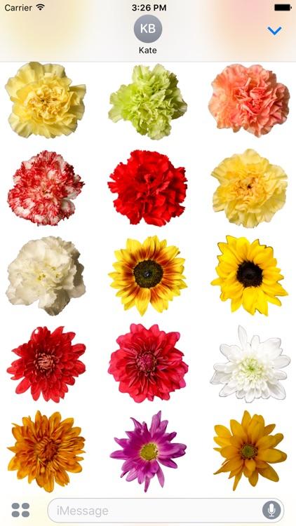 Flower Stickerz screenshot-3