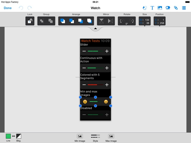 Appcooker prototyping mockup studio for ios on the app store malvernweather Images