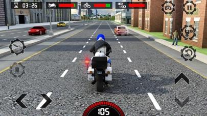 警察バイク犯罪パトロールチェイス3Dガンシューティングゲーム - Police Bike Gameのおすすめ画像5