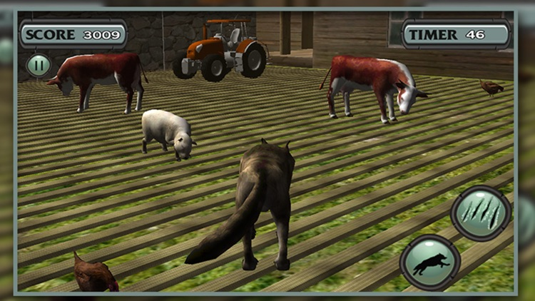 Wolf Simulator Arctic Wolves screenshot-1