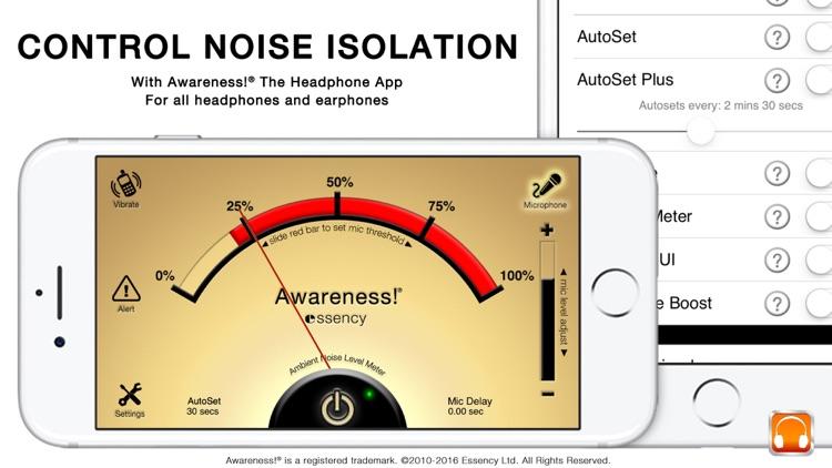 Awareness! The Headphone App screenshot-4