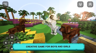 Puppy Love Craft: Pet Sim, Creative Game for Girls Screenshot on iOS