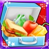 School Lunch Box Sandwich Maker Kids Cooking Game