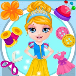 Princess Dress Design ~ Make your own dress