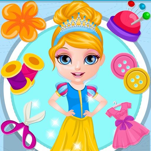 Princess Dress Design ~ Make your own dress iOS App