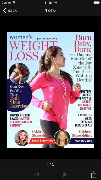 Women's Weight Loss Magazine