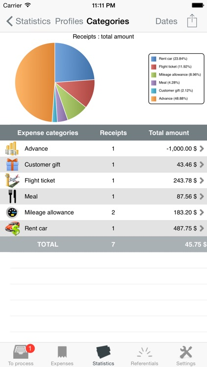 My iExpenses Pro screenshot-4