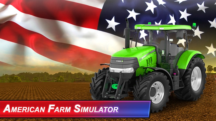 American Farm Simulator:Diesel Truck Harvest Crop screenshot-4