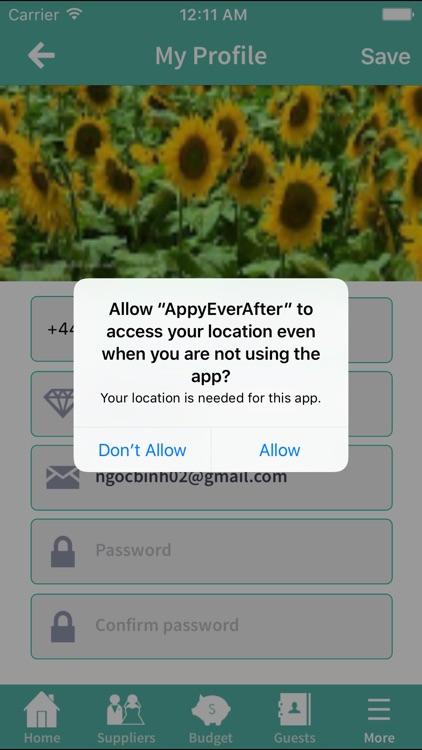 AppyEverAfter Wedding Planning screenshot-4
