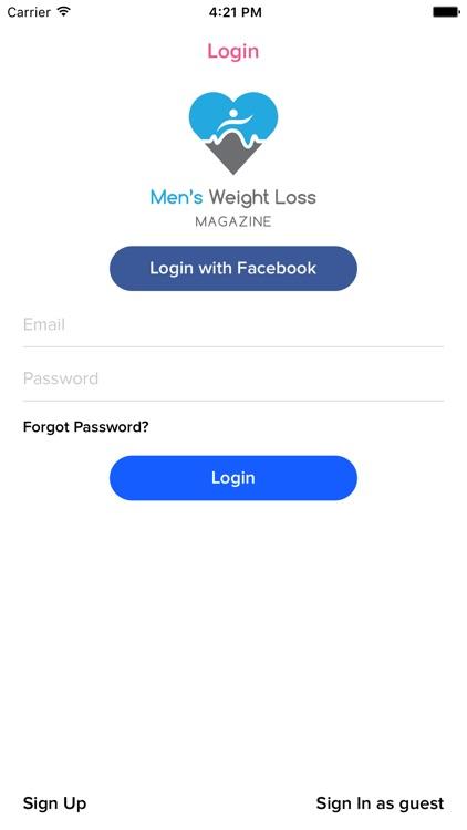 Men's Weight Loss Magazine screenshot-3