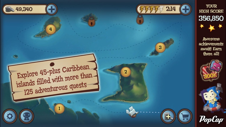 Solitaire Blitz™: Lost Treasures screenshot-3