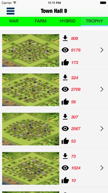 Top layouts for CoC screenshot-4