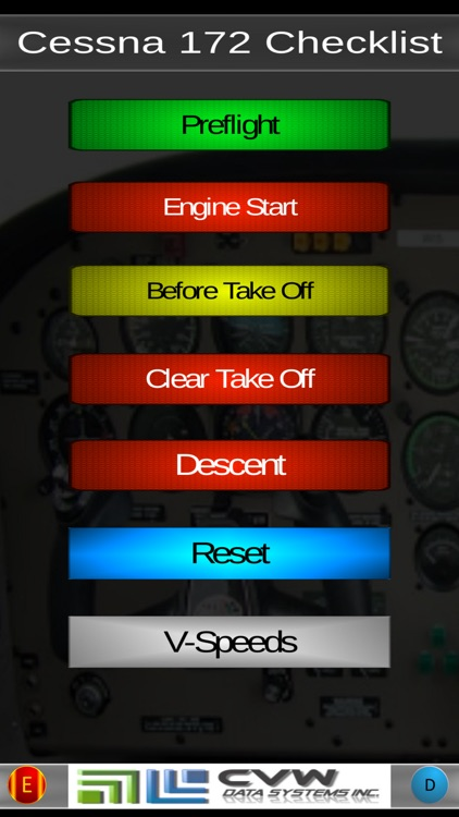 Victor's Cessna 172 Checklist screenshot-0