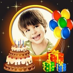Birthday Photo Frames & Photo Editor