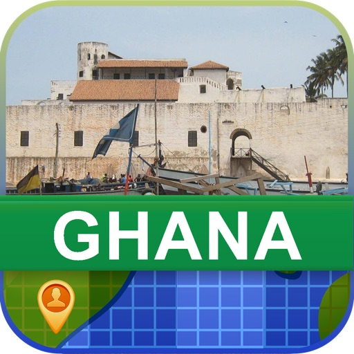 Offline Ghana Map - World Offline Maps