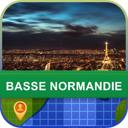 Offline Basse Normandie Map - World Offline Maps