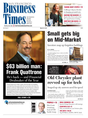 Screenshot of San Francisco Business Times