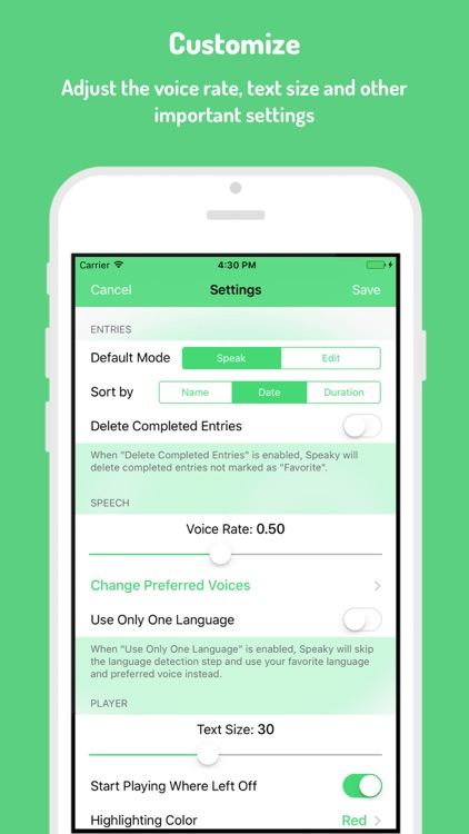 Speaky - Article Voice Reader