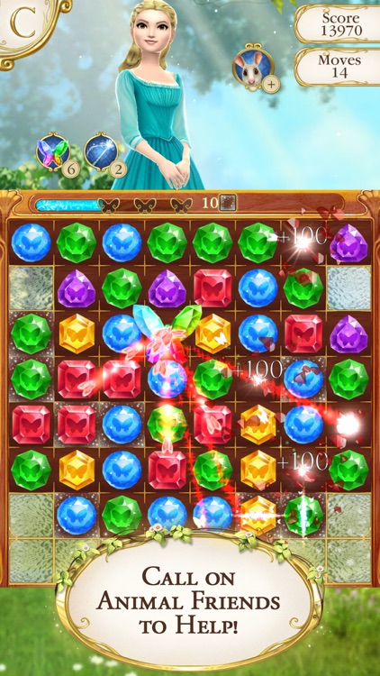 Cinderella Free Fall screenshot-2