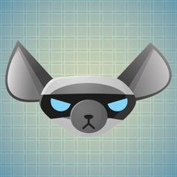 Sticker Me: Gray Dog