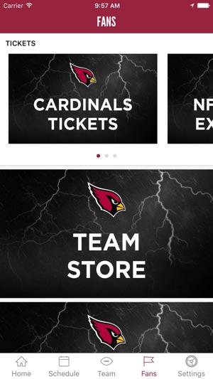 hot sale online 7d9cf 29de7 Arizona Cardinals Mobile on the App Store