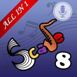 Saxophone Scales All In 1 (Grade8)