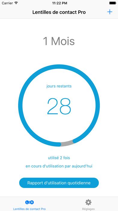 Screenshot #2 pour Lentilles de contact Pro