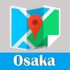 大阪旅游指南地铁gps定位零流量去哪儿日本世界地图 Osaka metro JR map guide