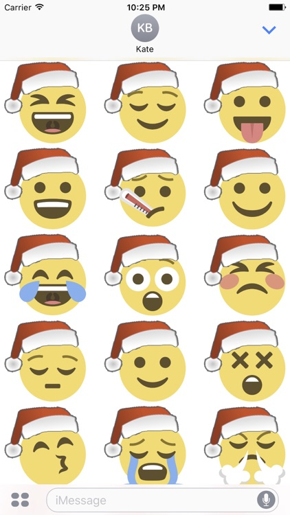 Santa Emoji screenshot-2