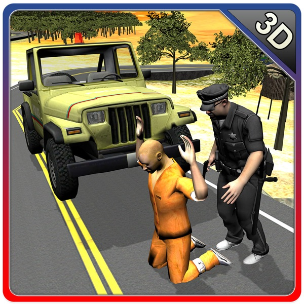 Offroad 4x4 Police Jeep – Chase & arrest robbers in this cop vehicle driving game