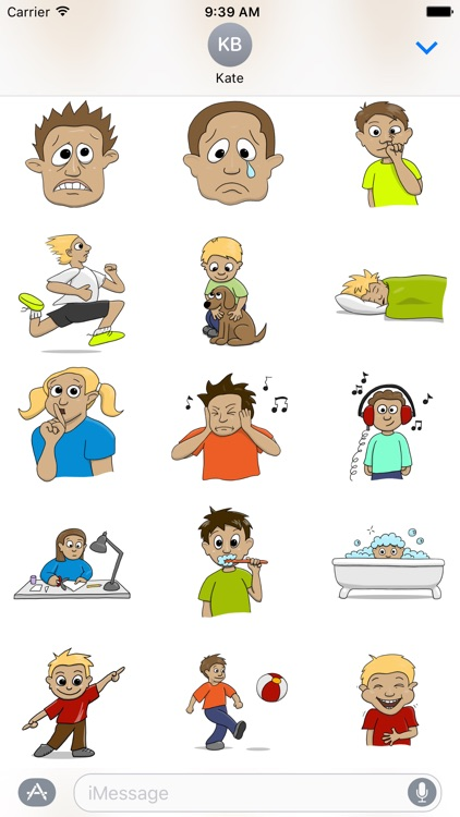 Stickertoons – Colorful stickers for iMessage