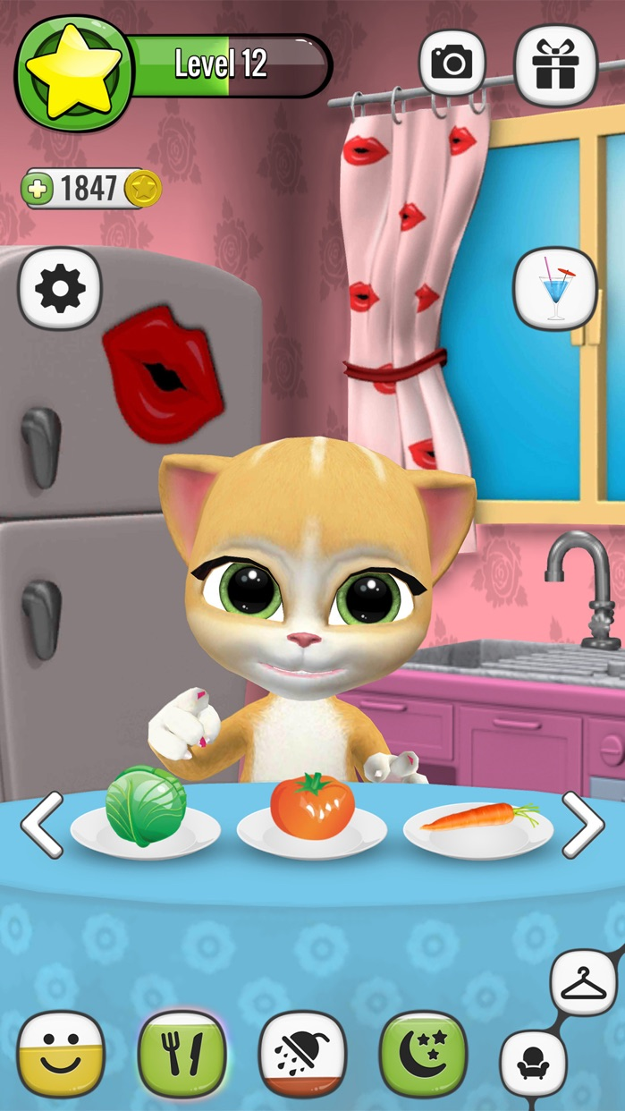 Emma The Cat - Virtual Pet Games for Kids Screenshot