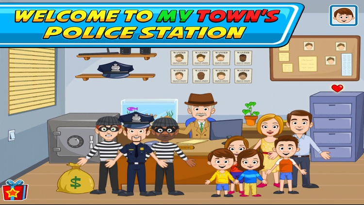 My Town : Police screenshot-0