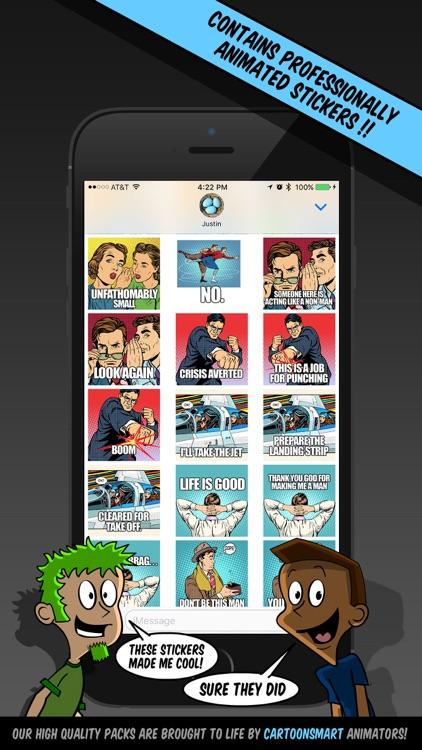 Men Stickers screenshot-4