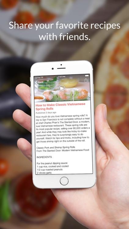 Restaurant Recipes: Food recipes & cookbook screenshot-3