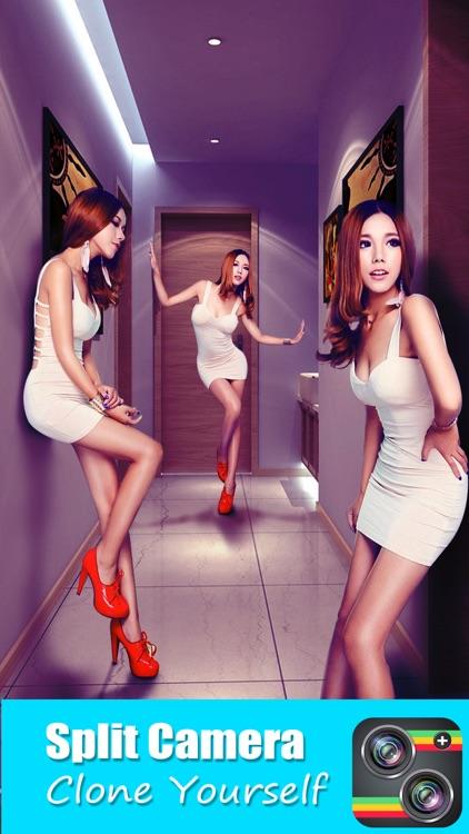 Split Camera - Pic Photo Mirror Clone Effects app image