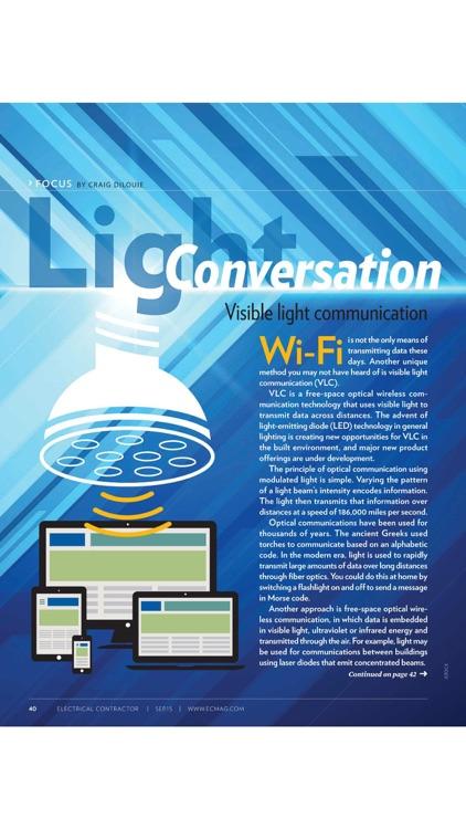 ELECTRICAL CONTRACTOR Magazine screenshot-3