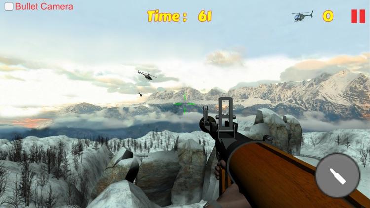 Bazooka Helicopter Shooting Sniper Game screenshot-4