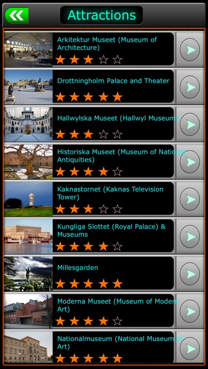 Stockholm Offline Map Travel Guide screenshot-2