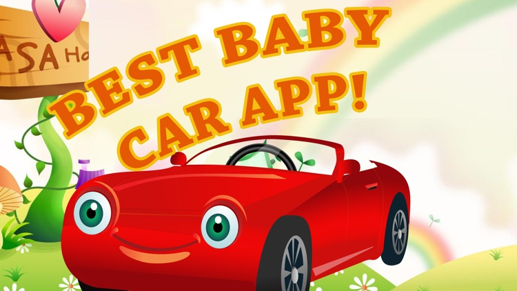 Baby Car Driving App 4 Toddler screenshot-0