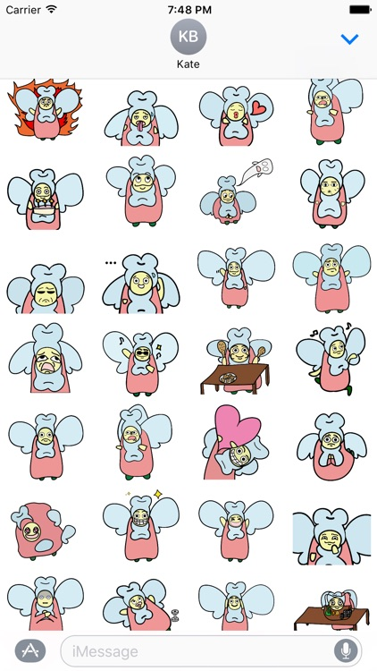 EYO the Toothfairy Sticker Pack screenshot-3