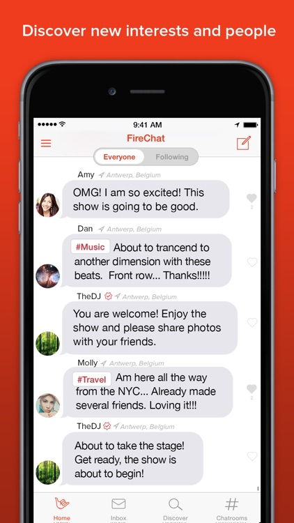 FireChat screenshot-3