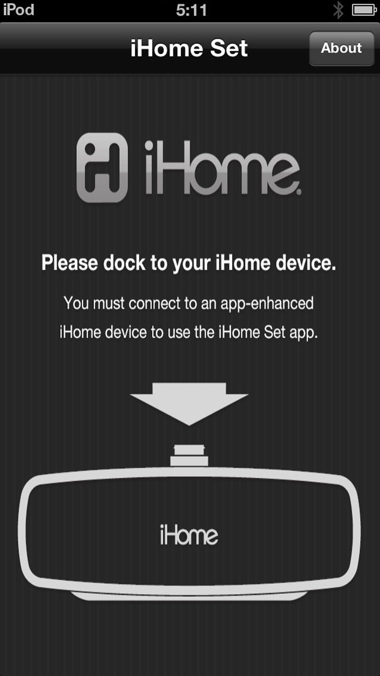 iHome Set Screenshot