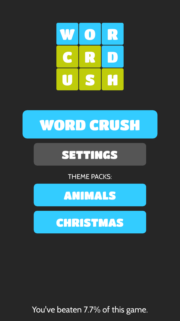 Word Crush - Fun Puzzle Games Screenshot
